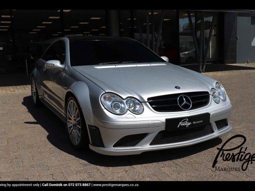 Mercedes CLK63 AMG Black-Series