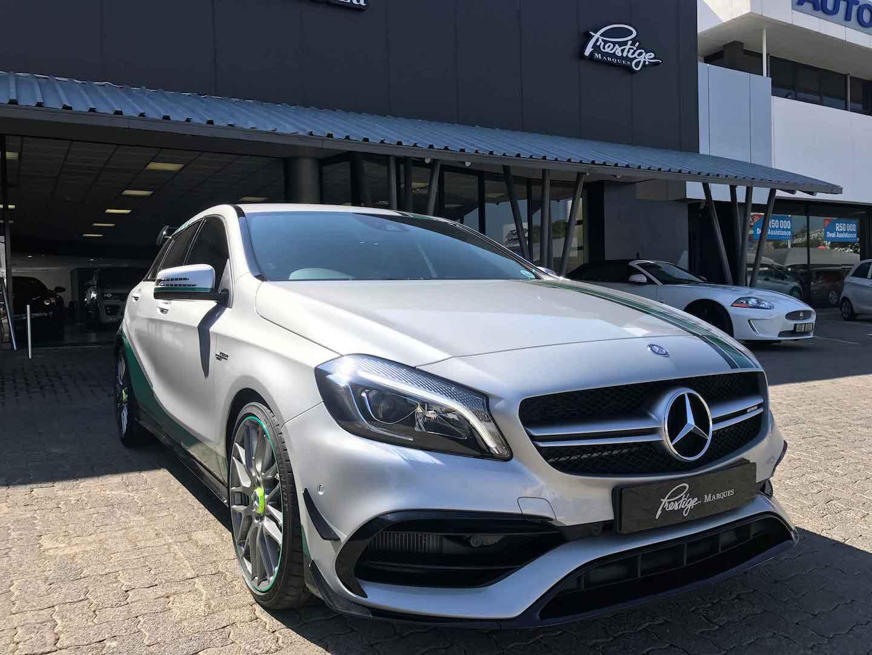 Prestige marques mercedes benz a45 amg petronas edition for Prestige mercedes benz