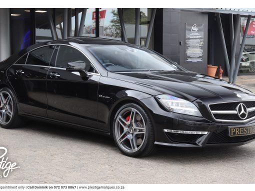 Mercedes-Benz CLS63 AMG (5.5 Litre)