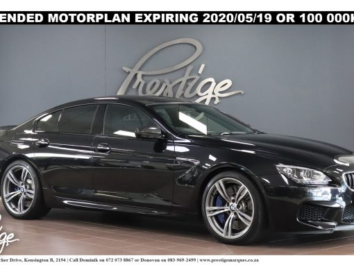 BMW M6 Gran Coupe M-DCT