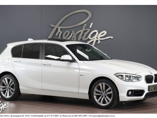 BMW 120d 5-Door Sport Line Auto