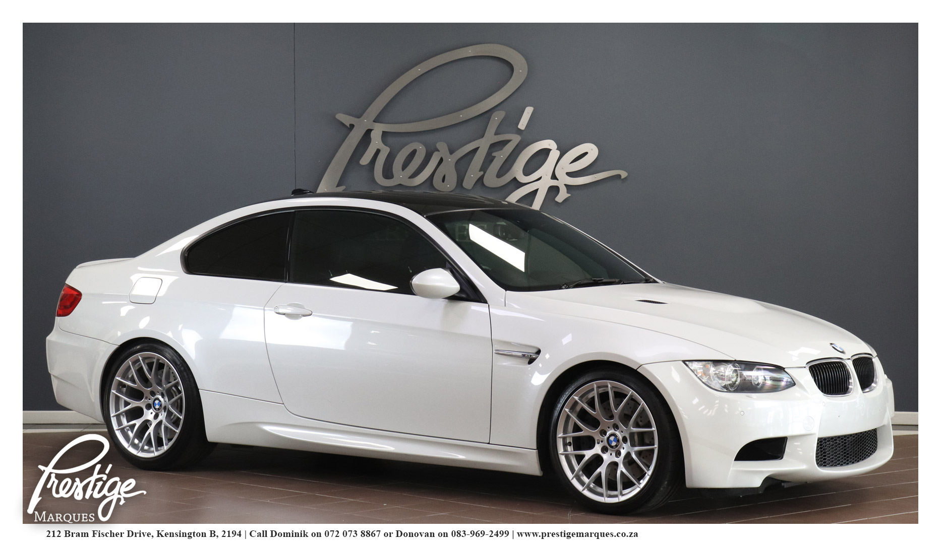 BMW M3 Competition Package M-DCT - Prestige Marques
