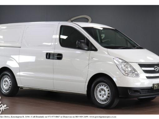 Hyundai H-1 2.5CRDi Panel Van Auto