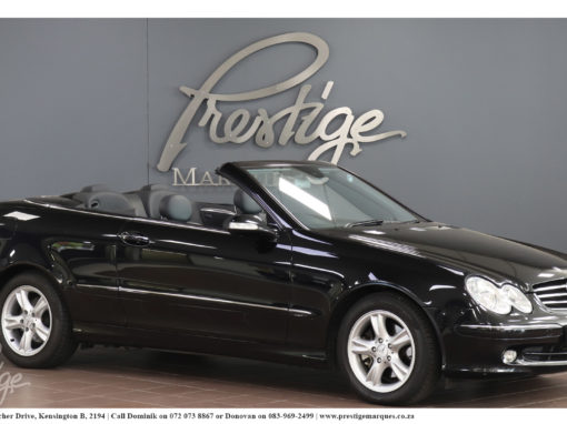 Mercedes-Benz CLK320 Convertible Avantgarde