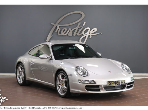 Porsche 911 (997) Carrera 4S Manual