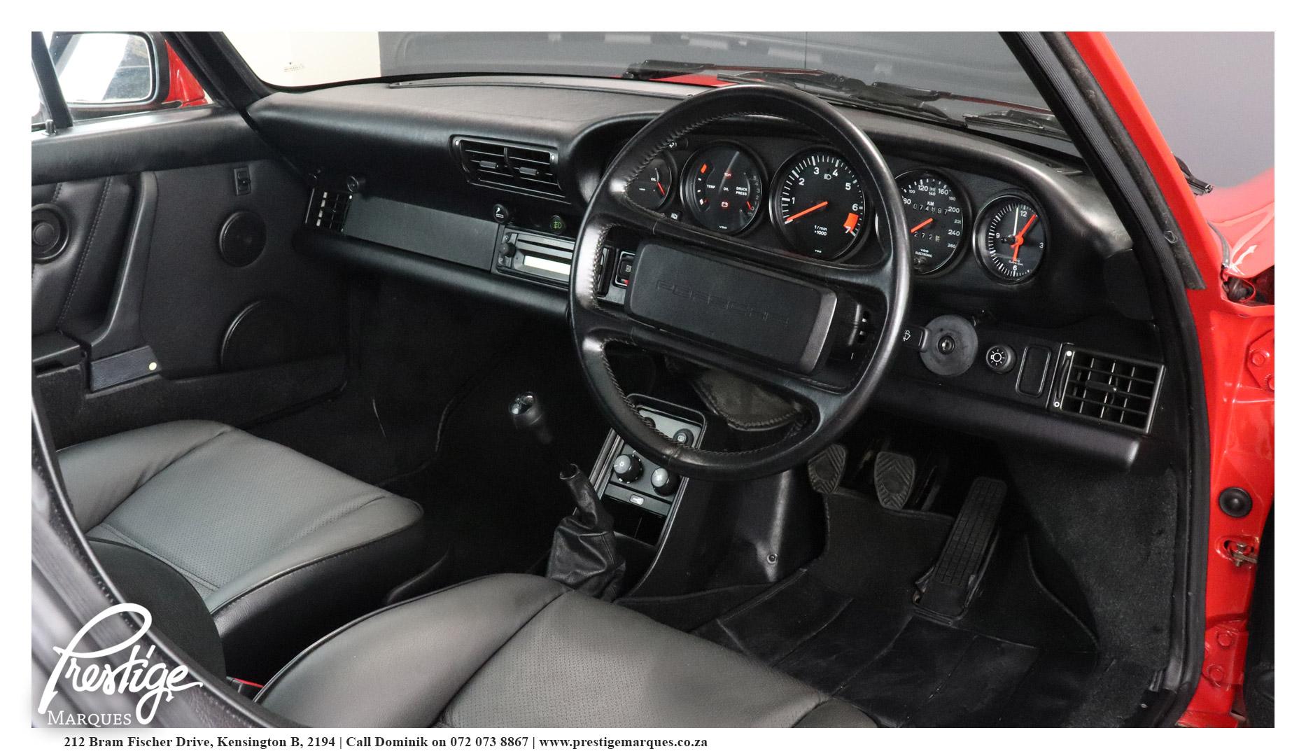 1989-Porsche-911-Carerra-3.2-350-Prestige-Marques-Randburg-Sandton-12