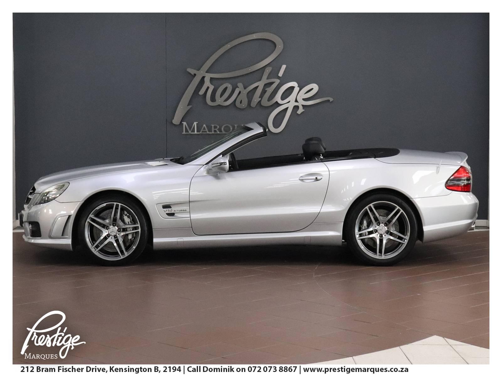 2008-Mercedes Benz-SL Cab-Silver-Prestige-Marques-Randburg-Sandton-11