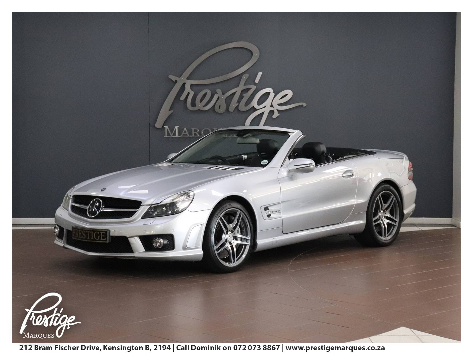 2008-Mercedes Benz-SL Cab-Silver-Prestige-Marques-Randburg-Sandton-14