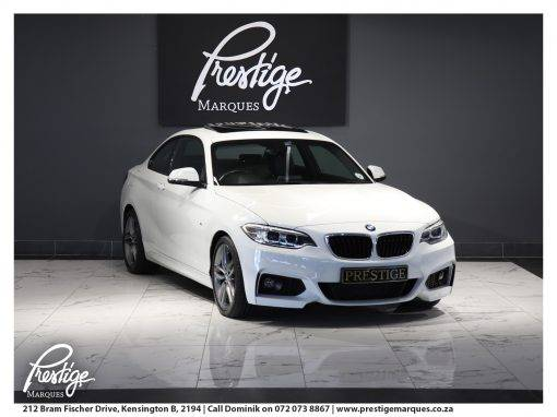 BMW 2 Series 220D M-Sport Auto