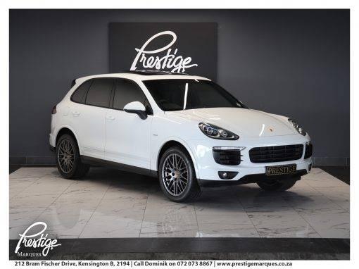 Porsche Cayenne Diesel Platinum (E2)