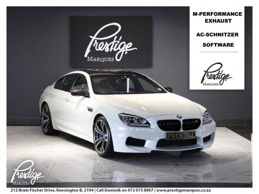 BMW M6 M6 Gran Coupe M-DCT