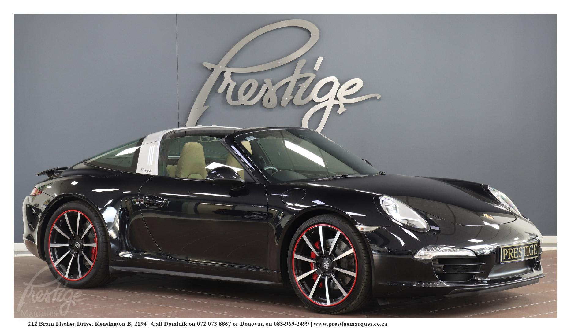Porsche 911 991 Targa 4s Pdk Prestige Marques