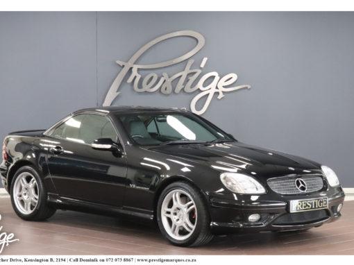 2004 Mercedes-Benz SLK 32 AMG Convertible