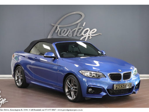 BMW 220i Convertible/Cabriolet M-Sport Auto