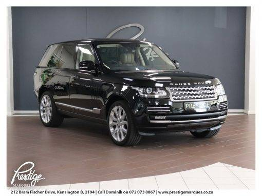 Land Rover: Range Rover Vogue SE Supercharged